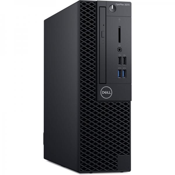 Desktop Dell OptiPlex 3070 SFF Intel Core Coffee Lake (9th Gen) i5-9500 256GB SSD 8GB Win10 Pro Tastatura + Mouse Black 3