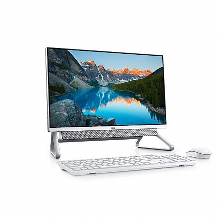 Dell Inspiron All-In-One 5490, 23.8-inch FHD, i5-10210U, 8GB DDR4, 2666MHz, 256GB M.2 SSD,Integrated Graphics,  Windows 10 Pro (64Bit) 1