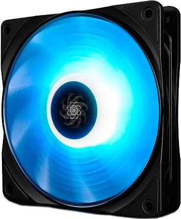 "FAN FOR CASE DEEPCOOL 120x120x25 mm, RGB LED, PWM, Hydro Bearing, control dual iluminare, 1 buc. in pachet ""RF120x1"" 0"
