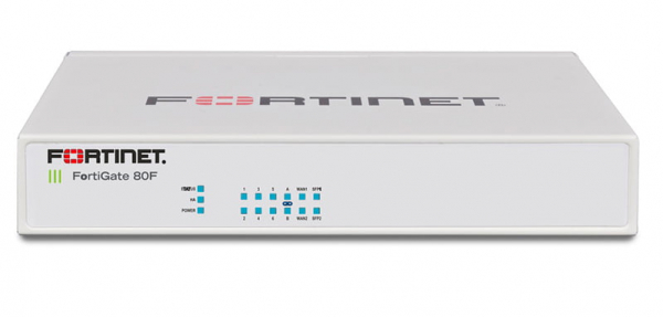 Fortinet Firewall FortiGate-80F Hardware plus 1 Year 24x7 FortiCare and FortiGuard Unified (UTM) Protection 0