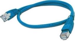 FTP Cat5e Patch cord, blue, 1 m 0