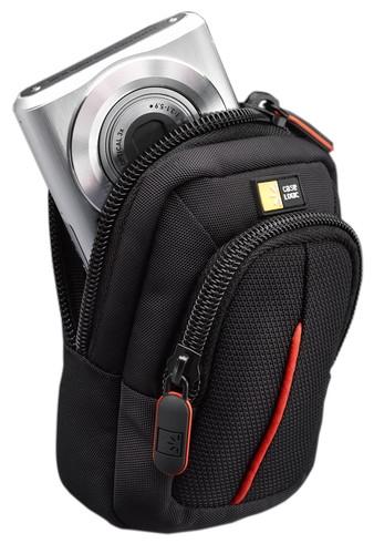 "GEANTA camera foto compacta CASE LOGIC, buzunar frontal, curea detasabila, poliester, black, ""DCB302K""/3201012 3"