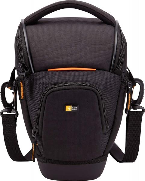 "Geanta camera foto SLR Case Logic, buzunar frontal, buzunare laterale, curea detasabila, spuma eva, rezistenta la apa, negru ""SLRC201""/3200902 1"