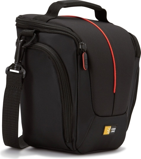 "GEANTA camera foto/video CASE LOGIC, buzunar intern, 2 buzunare laterale, nylon, black, ""DCB306K""/3201025 0"