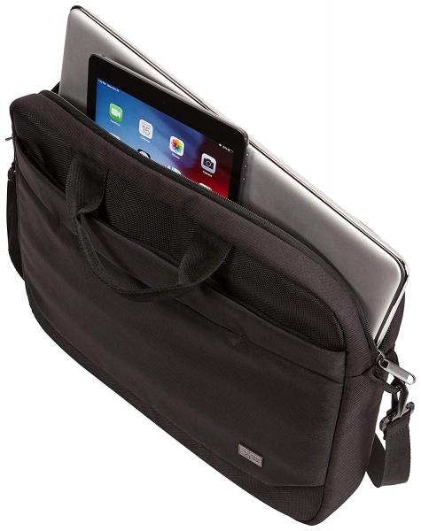 "GEANTA CASE LOGIC notebook 15.6"" , buzunar frontal, poliester, black ""ADVA116 Black""/3203988 3"