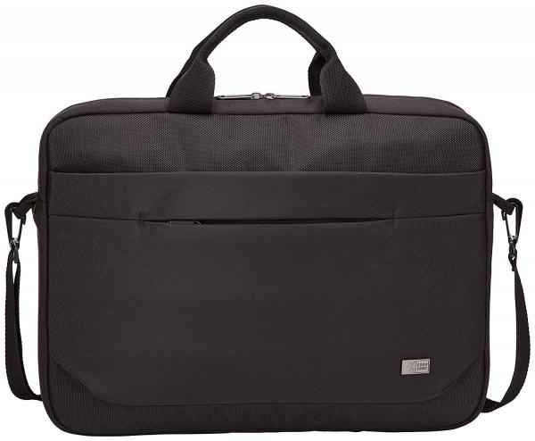 "GEANTA CASE LOGIC notebook 15.6"" , buzunar frontal, poliester, black ""ADVA116 Black""/3203988 2"