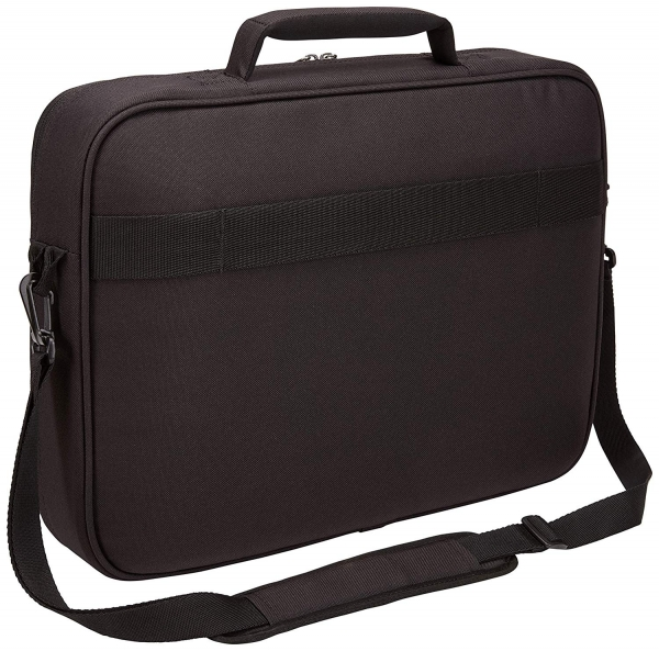 "GEANTA CASE LOGIC notebook 15.6"", poliester, 1 compartiment, buzunar interior tableta, 2 buzunare frontale, black, ""ADVB116 Black""/3203990 1"
