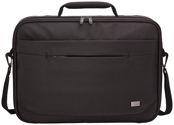 "GEANTA CASE LOGIC notebook 15.6"", poliester, 1 compartiment, buzunar interior tableta, 2 buzunare frontale, black, ""ADVB116 Black""/3203990 2"