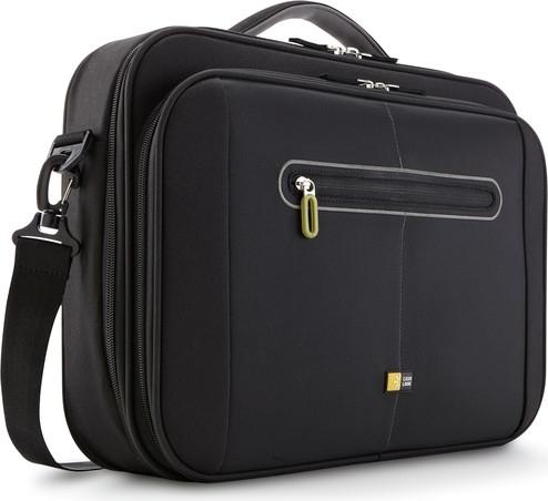 "GEANTA CASE LOGIC notebook 16"", nylon, 1 compartiment + compartiment Smart frontal pt. accesorii, buzunar interior tableta, buzunar frontal mic, black, ""PNC216""/3201207 0"