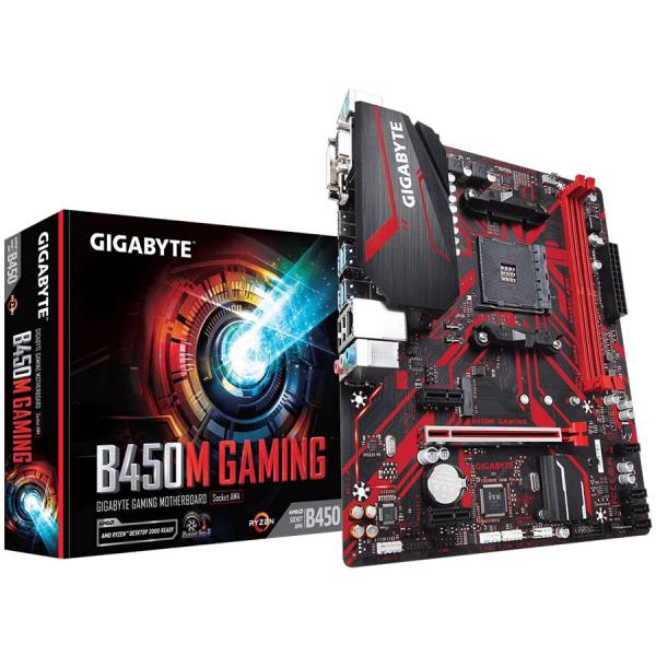 GIGABYTE Main Board Desktop B450M GAMING 0
