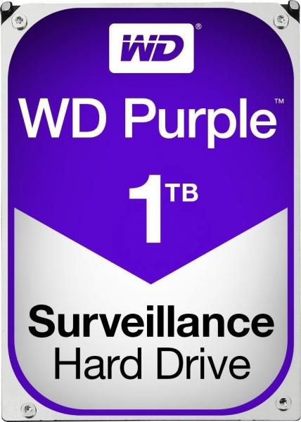 """HDD  1TB PURPLE  64MB S-ATA3 """"1PURZ"""" WD SURVEILLANCE """"WD10PURZ"""" 0"""