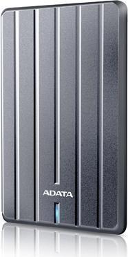 """HDD ADATA EXTERN 2.5"""" USB 3.1 1TB HC660 Metallic Luxury """"AHC660-1TU31-CGY"""" (include timbru verde 0.1 lei) 0"""