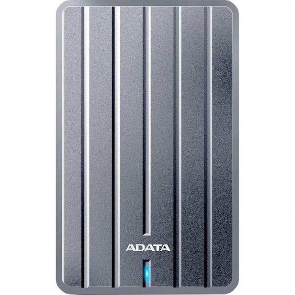 """HDD ADATA EXTERN 2.5"""" USB 3.1 2TB HC660 Metallic Luxury """"AHC660-2TU31-CGY"""" (include timbru verde 0.1 lei) 0"""