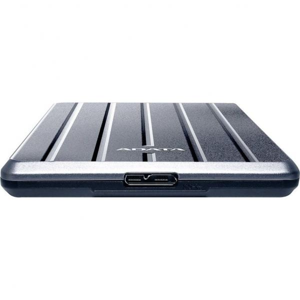 """HDD ADATA EXTERN 2.5"""" USB 3.1 2TB HC660 Metallic Luxury """"AHC660-2TU31-CGY"""" (include timbru verde 0.1 lei) 1"""