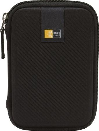 """HUSA HDD 2.5"""" portabil Case Logic, curea prindere hdd, curea prindere cablu, spuma eva, black """"EHDC101K""""/3201314/45505630 1"""