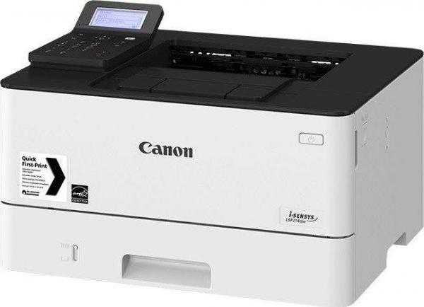 """Imprimanta laser mono Canon LBP214DW, dimensiune A4, duplex, viteza max 38ppm, rezolutie 1200x1200dpi, procesor: 800Mhz, memorie 1GB RAM, alimentare hartie 250 coli, """"2221C005AA"""" 0"""