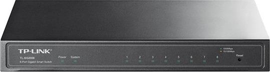 """JetStream 8-Port Gigabit Smart Switch, TP-Link """"T1500G-8T(TL-SG2008)"""" 0"""