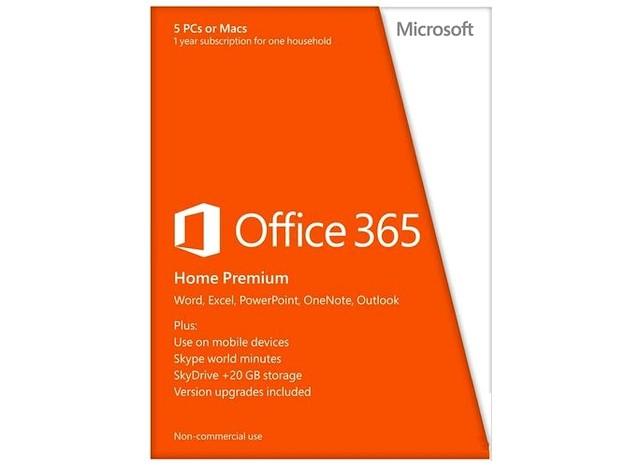 Microsoft Office 365 Home Premium, 1 an, EN  0