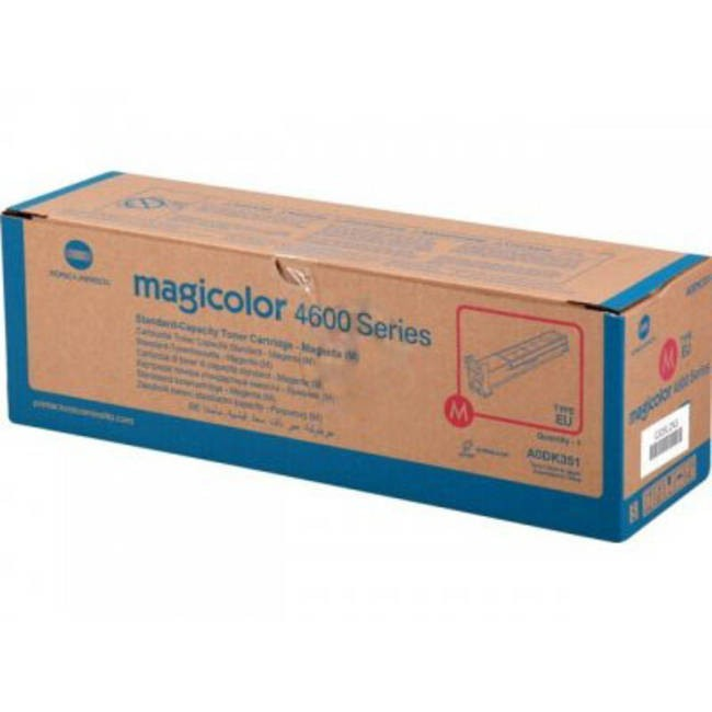 Toner Original pentru Konica-Minolta Magenta, compatibil MC 4650/4690MF, 4000pag  0