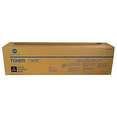 Toner Original pentru Konica-Minolta Negru TN-411K, compatibil BizHub C451, 45000pag  0