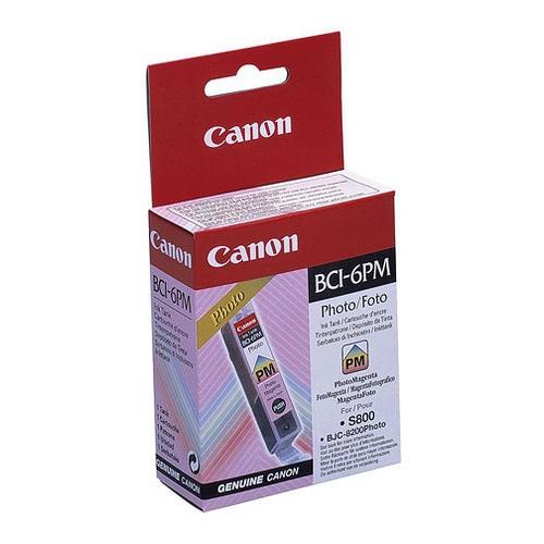 Cartus cerneala Original Canon BCI-6PM Photo Magenta, compatibil S800  [0]