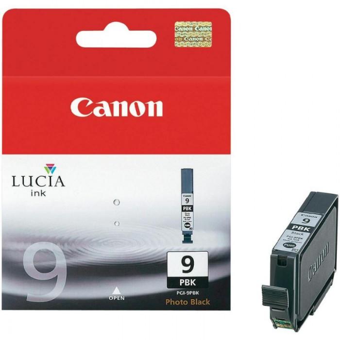 Cartus cerneala Original Canon PGI-9PBK Negru foto, compatibil Pro 9500, 14 ml  [0]