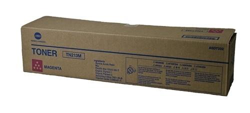 Toner Original pentru Konica-Minolta Magenta TN-213M, compatibil BizHub C203, 19000pag  0