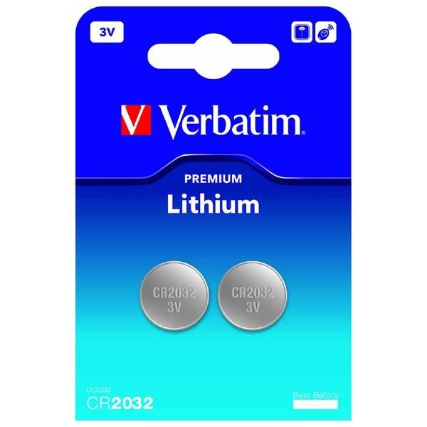 BATERIE VERBATIM. BUTONI CR2032 Lithium 3V 2PK  [0]
