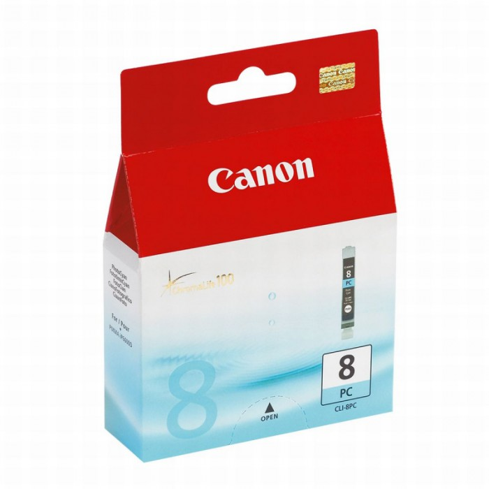 Cartus cerneala Original Canon CLI-8PC Photo Cyan, compatibil iP6700/Pro 9000  0