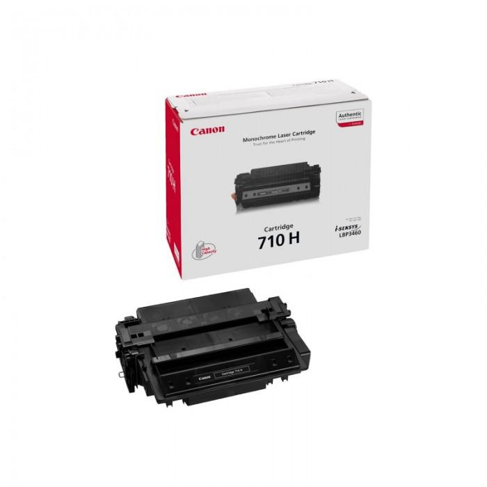 Toner Original pentru Canon Negru CRG-710H, compatibil LBP3460, 12000pag  [0]