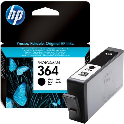 Cartus cerneala Original HP Black 364 w.Vivera ink, compatibil DJ3070/3250/OJ5510/5514/5515/6510/7510, 250pag  [0]