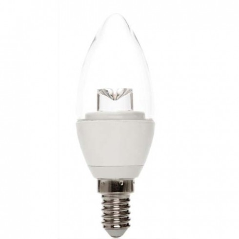 BEC LED Verbatim E14 5W 2700K Warm White 350LM transparent  0
