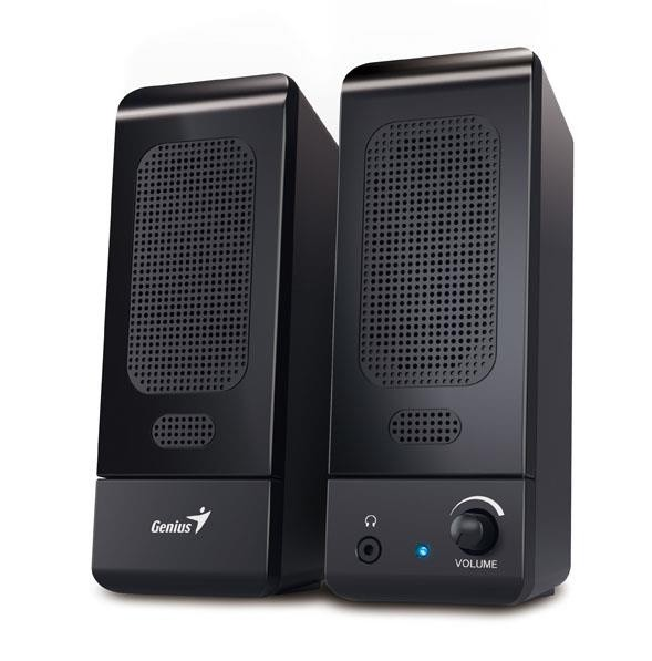 "BOXE 2.0 GENIUS    ""SP-U120"", RMS: 0.75Wx2, black, USB power  0"