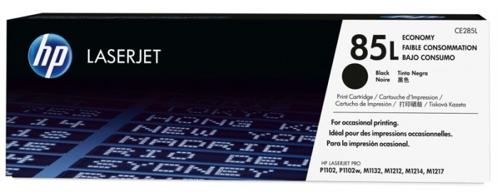 Toner Original pentru HP Negru Economy, compatibil LJ P1102/P1102w/M1132/M1212/M1214/M1217 85L, 700pag  [0]
