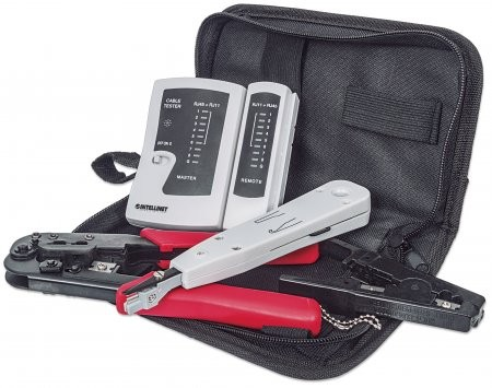 Trusa scule retea Tool Kit, Black  0