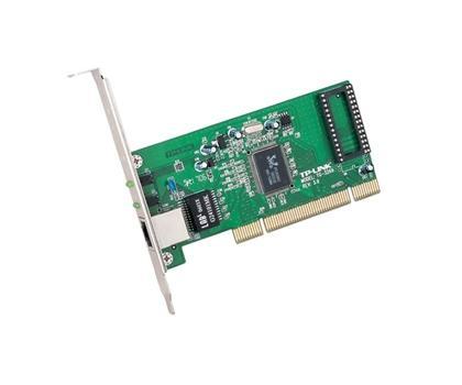 Placa de retea PCI 32-biti, rata de transfer 10/100/1000Mbps, wired cu port de retea RJ-45 si un slot Bootrom, standarde iEEE 802.3/u/ab/3x/1q/1p, cu LED-uri, TP-LINK  [0]