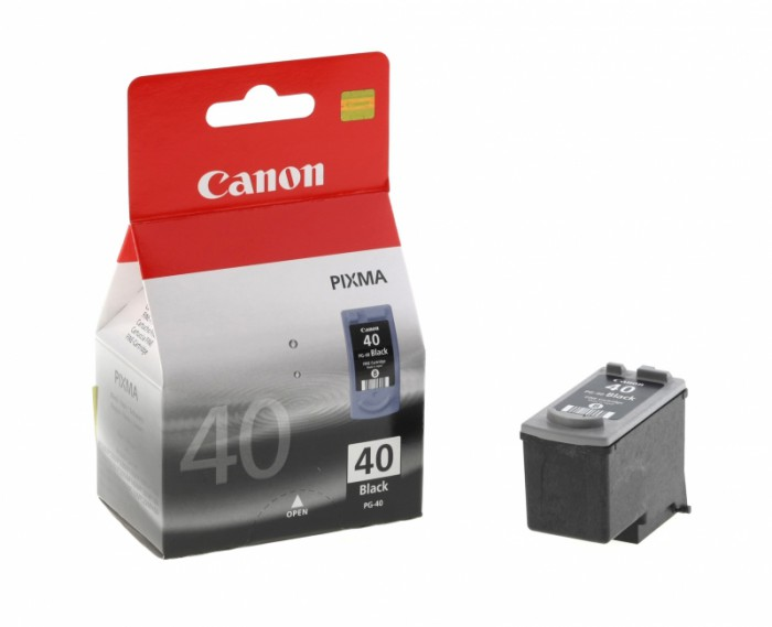 Cartus cerneala Original Canon PG-40 Negru, compatibil iP1600/iP2200/MP150/MP160/MP170/MP180/MP210/MP220, 16 ml  0