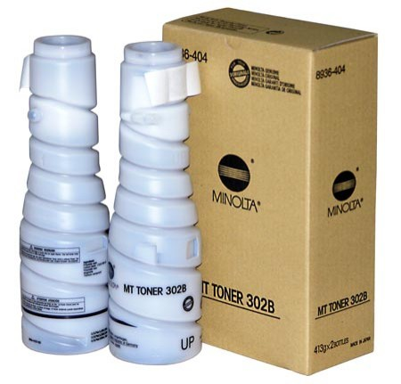 Toner Original pentru Konica-Minolta Negru MT-302B, compatibil Di 200/250/251/350/351, 1 flacon, 11000pag  0