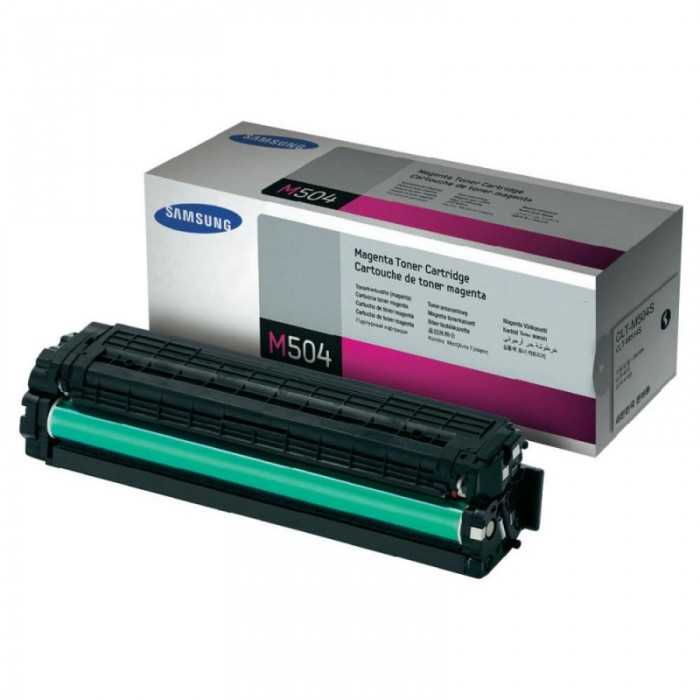 Toner Original pentru Samsung Magenta, compatibil CLP-415/CLX-4195, 1800pag  0