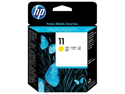 Cap imprimare Original HP Yellow Printhead 11, compatibil DesignJet 500/600/CP1700/2xxx, 24000pag  [0]