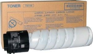 Toner Original pentru Konica-Minolta Negru TN-118, compatibil BizHub 215, 1 flacon, 12000pag  0