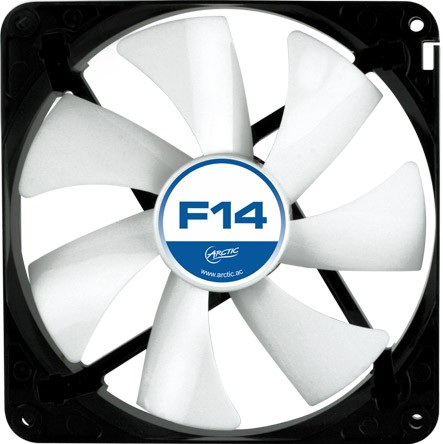 "FAN FOR CASE ARCTIC. ""F14"" 140x140x25 mm, low noise FD bearing (AFACO-14000-GBA01) 0"