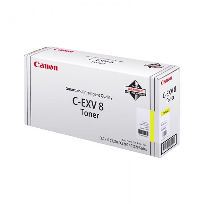 Toner Original pentru Canon Yellow C-EXV8Y, compatibil IRC3200, 25000pag  [0]