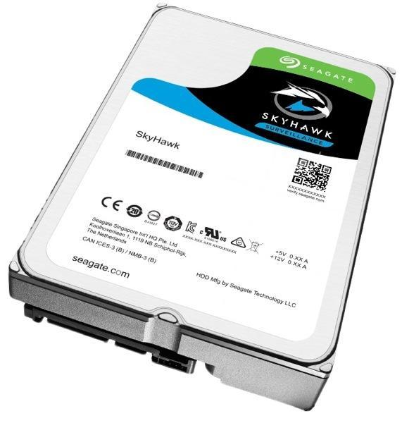 """HDD  2TB 5900 64M S-ATA3 """"SkyHawk"""" SEAGATE  0"""