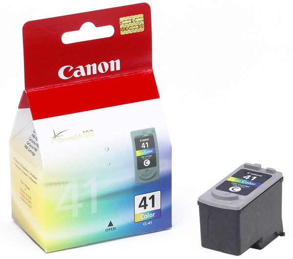 Cartus cerneala Original Canon CL-41,  Color, compatibil iP1600/iP2200/MP150/MP160/MP170/MP180/MP210/MP220, 3 x 4 ml  0