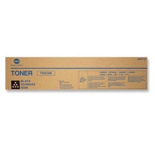 Toner Original pentru Konica-Minolta Negru TN-314K, compatibil BizHub C353,  1 flacon, 26000pag  [0]