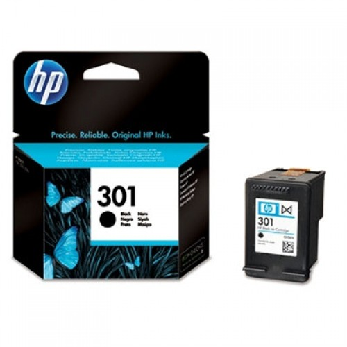 Cartus cerneala Original HP Black 301 w.Vivera ink, compatibil DJ1000/1050/1055/2050/3050, 190pag  0