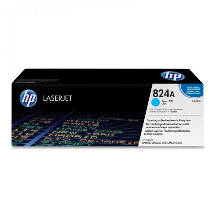 Toner Original pentru HP Cyan, compatibil LJ CP6015, 21000pag  [0]