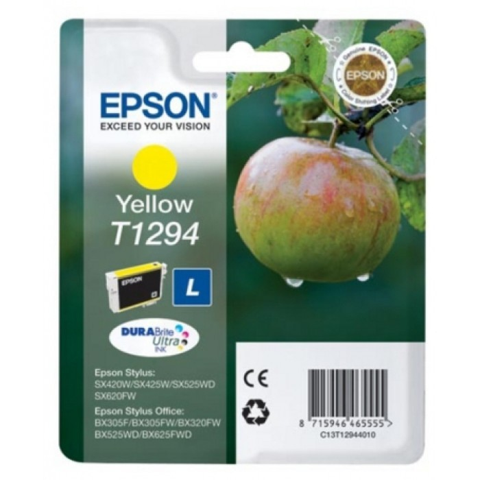 Cartus cerneala  Original Epson Yellow T12944010  compatibil  SX425W   [0]