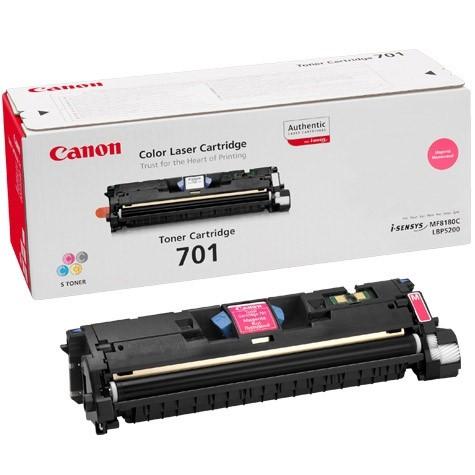 Toner Original pentru Canon Magenta E-701M, compatibil LBP5200, 4000pag  [0]